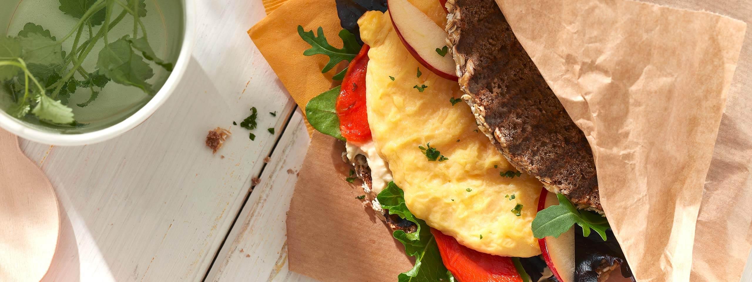 Brot-Sandwich